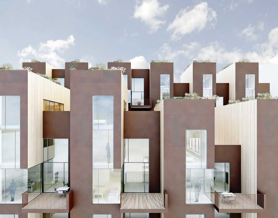 Stockholm Town Houses Sweden C F M Ller Architects