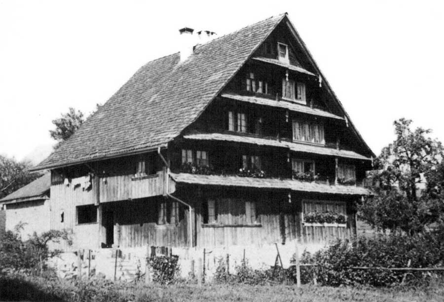 Traditional Swiss Building For Reference