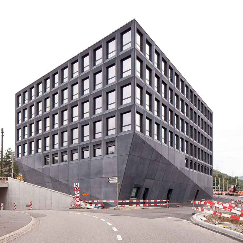 Swiss office buildings offices switzerland e architect for Architecture zurich