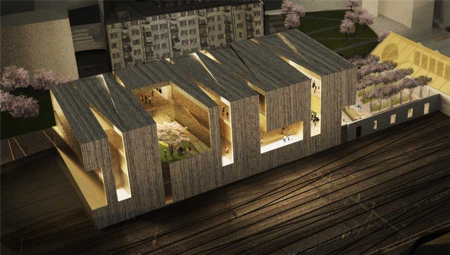 Swiss architecture buildings in switzerland e architect for Design 4 office lausanne