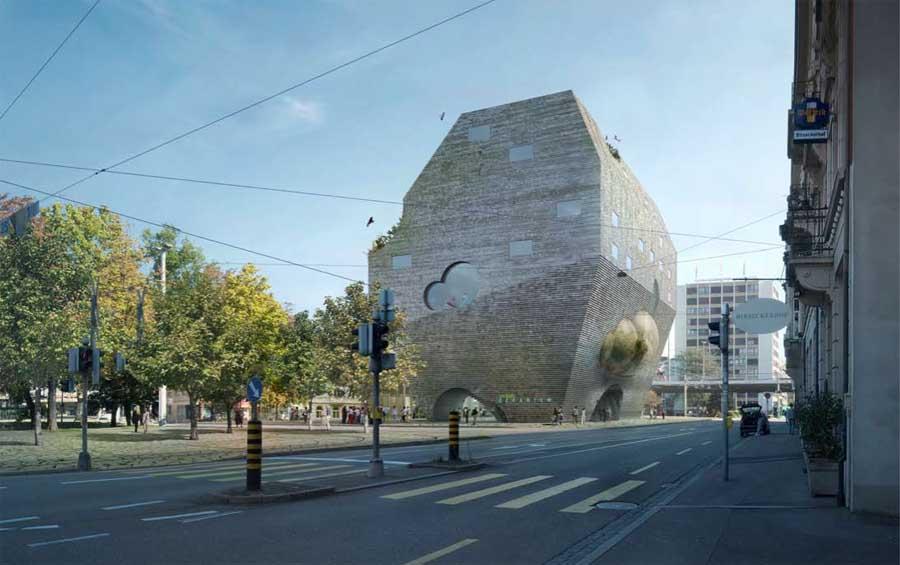 Ozeanium Zoo Basel Aquarium Switzerland E Architect