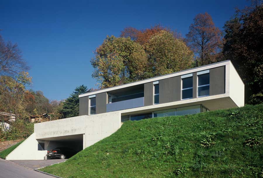 Swiss houses residential buildings switzerland e architect for Swiss homes
