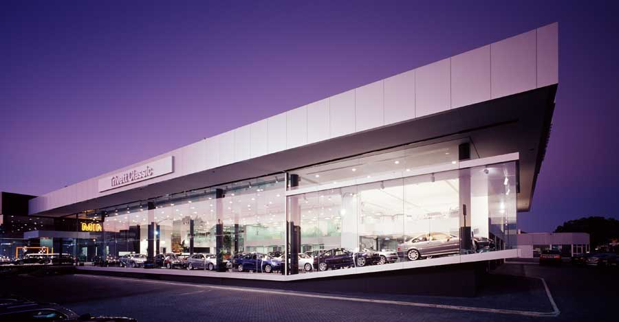 Sydney Bmw Showroom Parramatta E Architect
