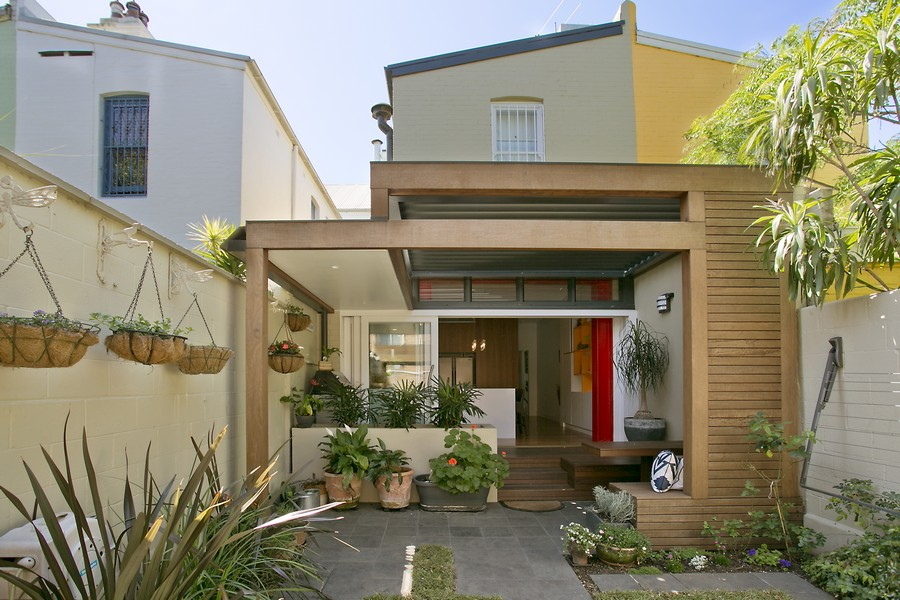 surry hills terrace house d100713 1 - 38+ Modern Terrace Design For Small House Images