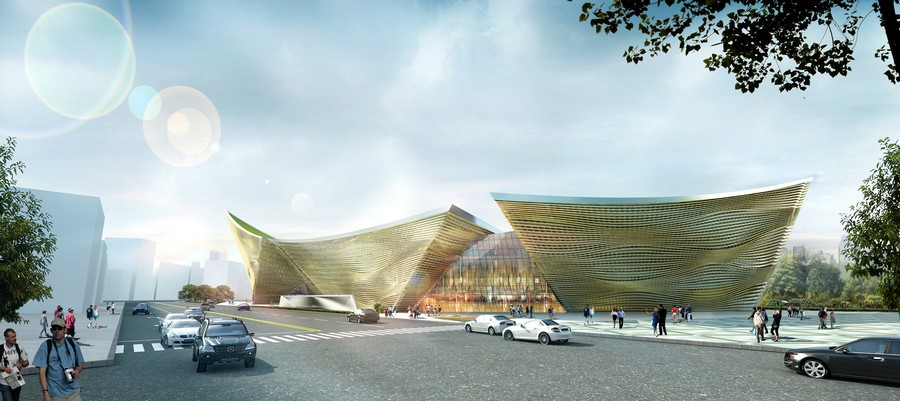 Wooden Wave Cultural Center Taiwan E Architect