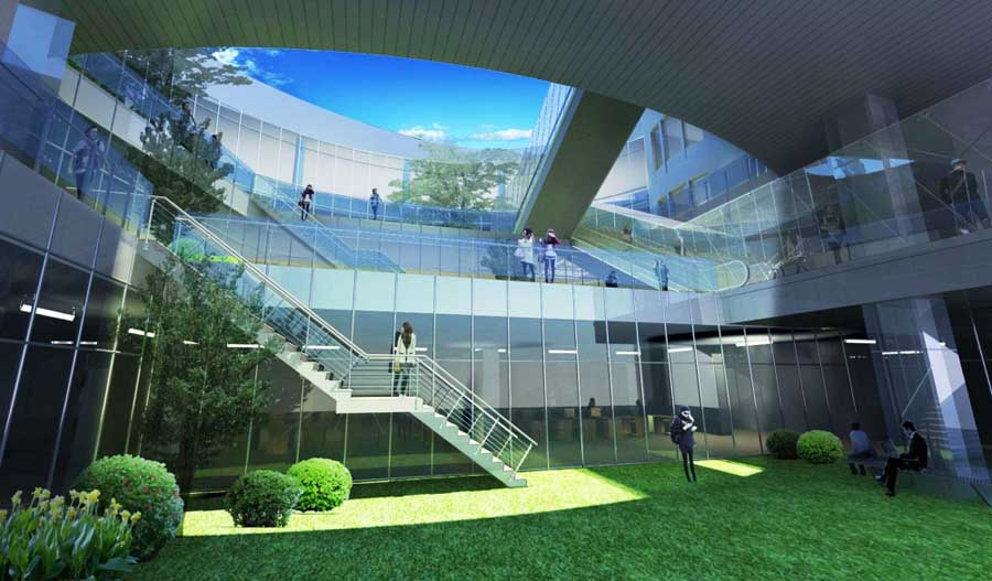 Kaohsiung Library Competition Mak Architects E architect