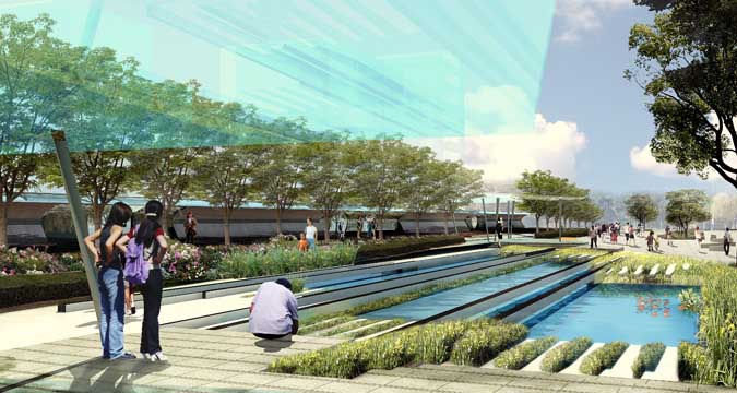 Kaohsiung Port Station Urban Design Competition AGER Group Taiwan - Port design