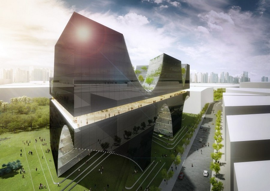 taichung city cultural center project  taiwan