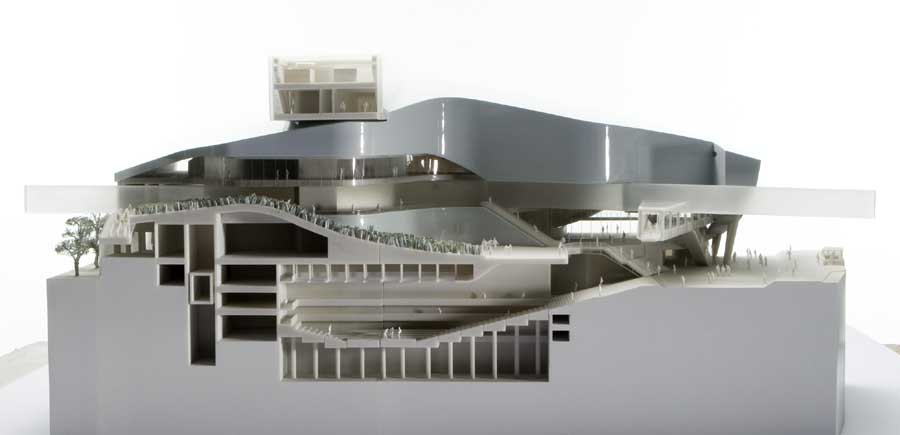 Performing arts center taipei morphosis taiwan e architect for Architecture art