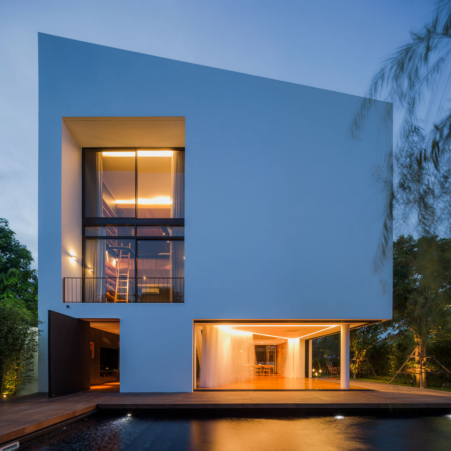 Thailand architecture thai buildings e architect Modern residence