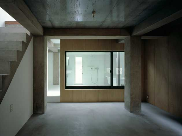 Column And Slab House Japan Tokyo Home E Architect