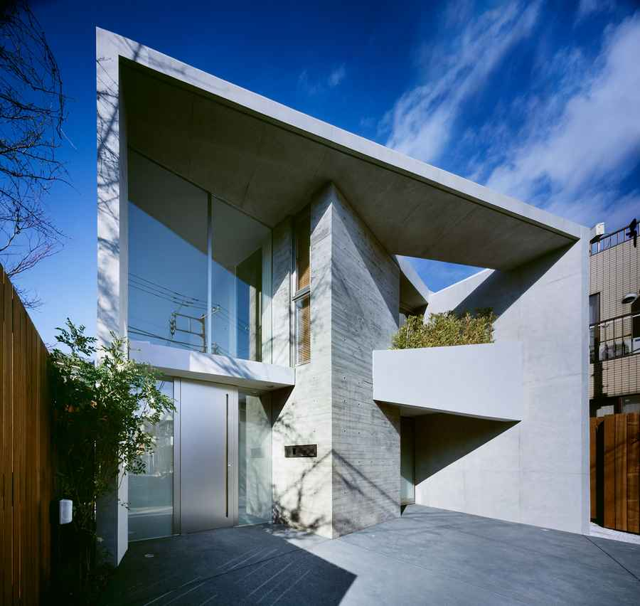 Japanese property designs japan houses e architect Design house inc