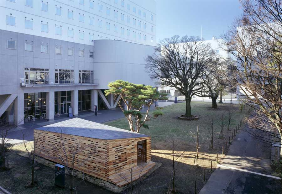 Space lab university of tokyo building e architect for Architecture tokyo