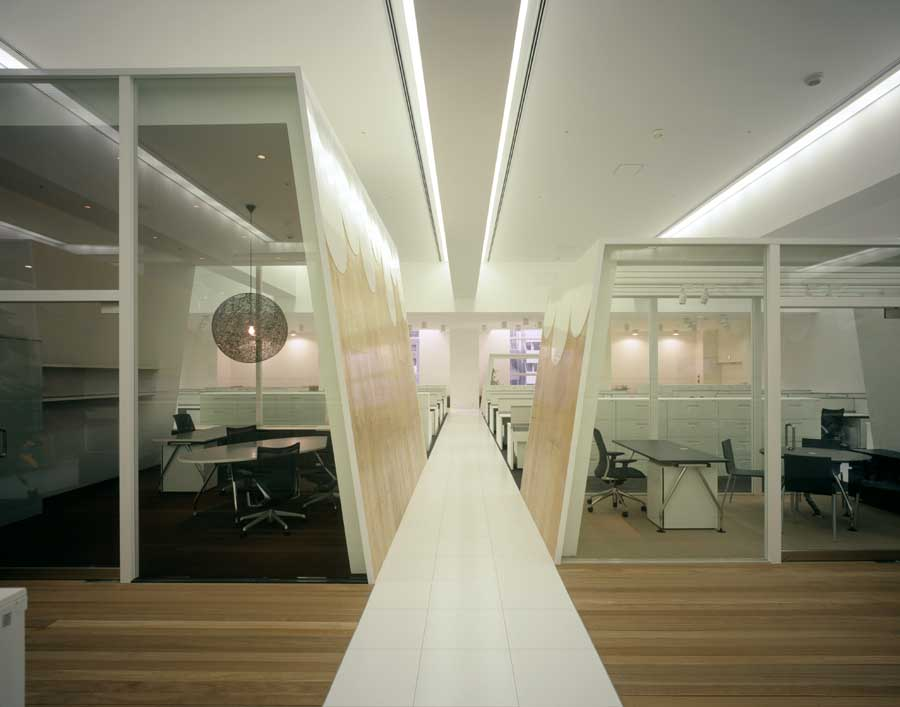 Tbwahakuhodo tokyo klein dytham architecture e architect for Advertising agencies office interior design