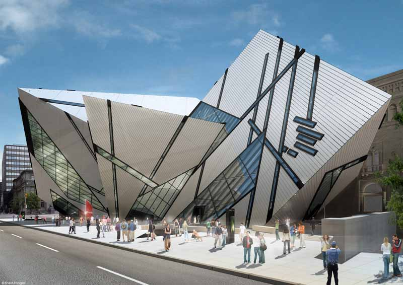 Architecture design the royal ontario museum