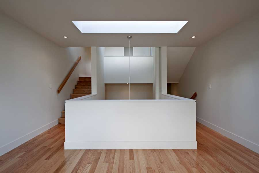 Shaft house new toronto home rzlbd architects e architect for Atelier 5 architecture