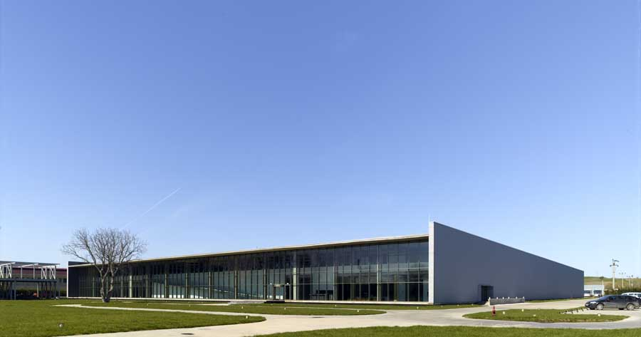 Ipekyol textile factory turkey edirne e architect for Factory building design
