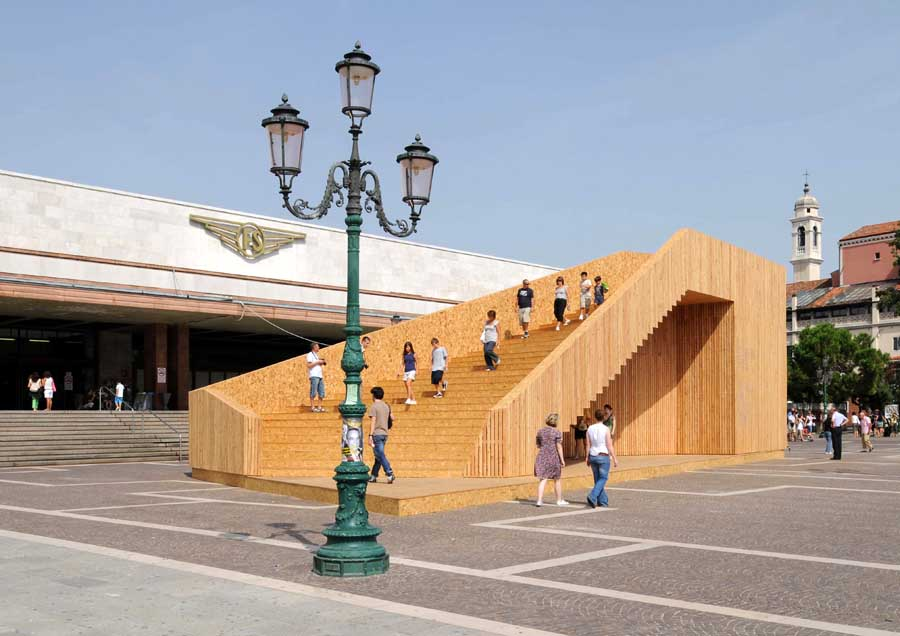 Venice biennale british pavilion uk exhibition e architect for Architecture venise
