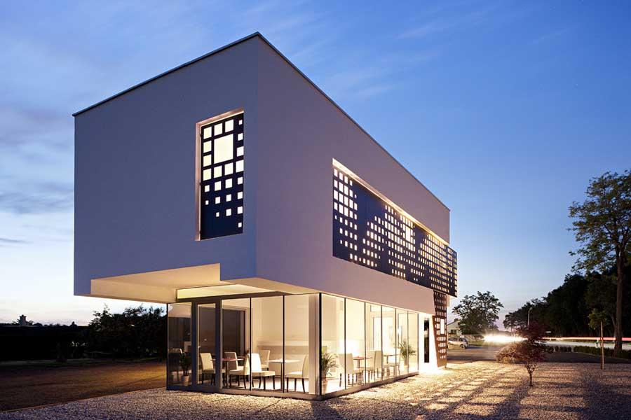 Exterior small hotel designs joy studio design gallery for Hotel exterior design