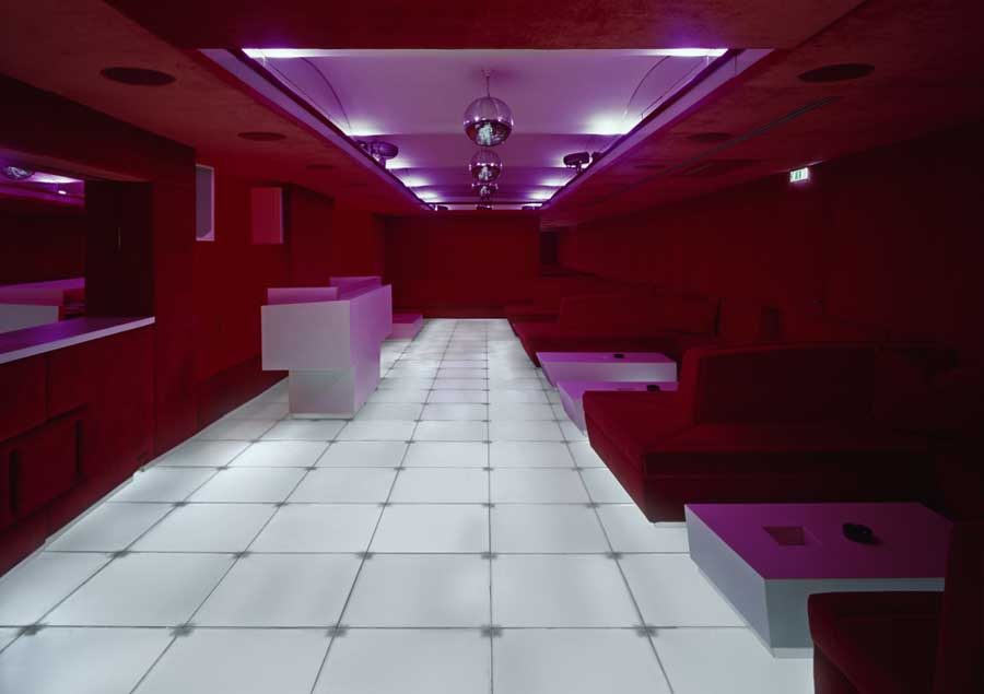 Red Room Vienna Austria Comida Restaurant Stubenring Architect