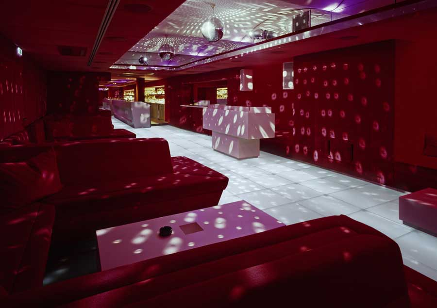 Red Room Vienna Club Interior