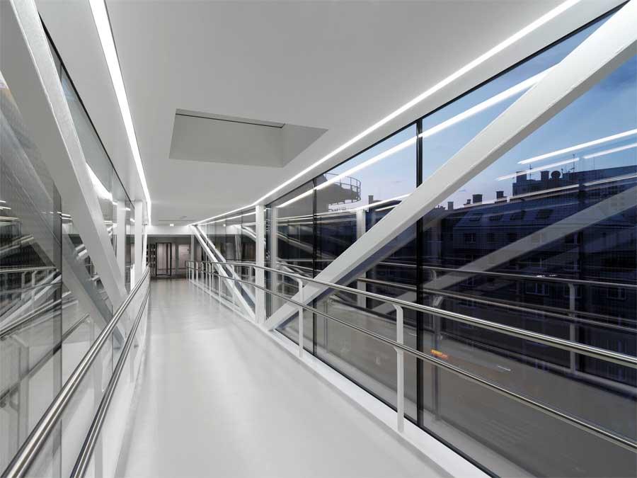 Skywalk Vienna Viennese Bridge Rennweg E Architect