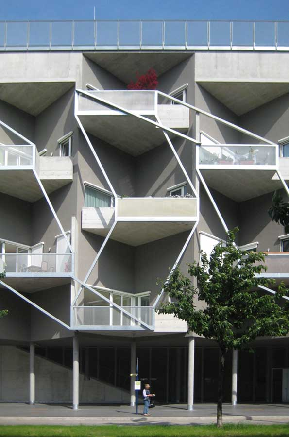 Tokiostrasse Apartments Vienna Residential Building E