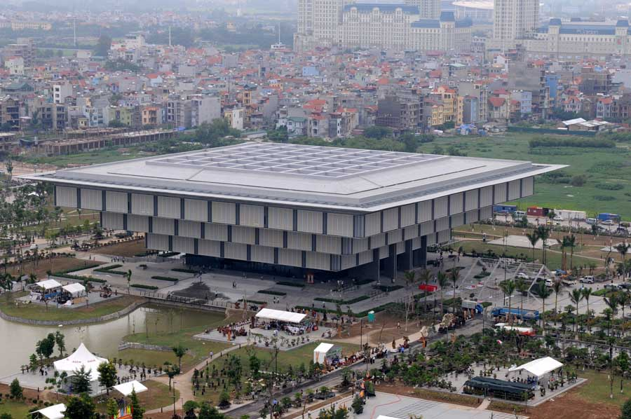 Hanoi Museum Building, Vietnam – design by gmp – von Gerkan, Marg and Partners