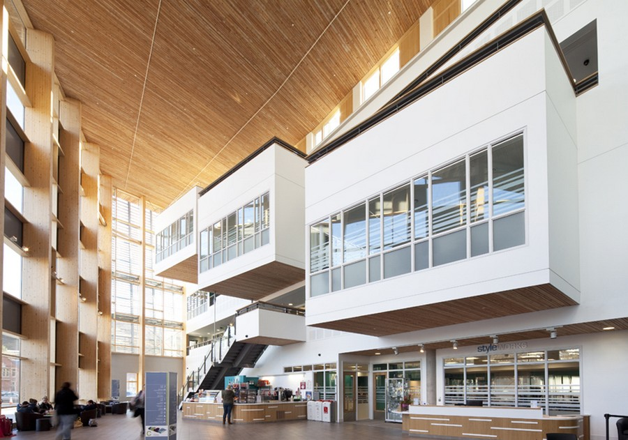 Cardiff and vale college city centre campus e architect for Architecture colleges