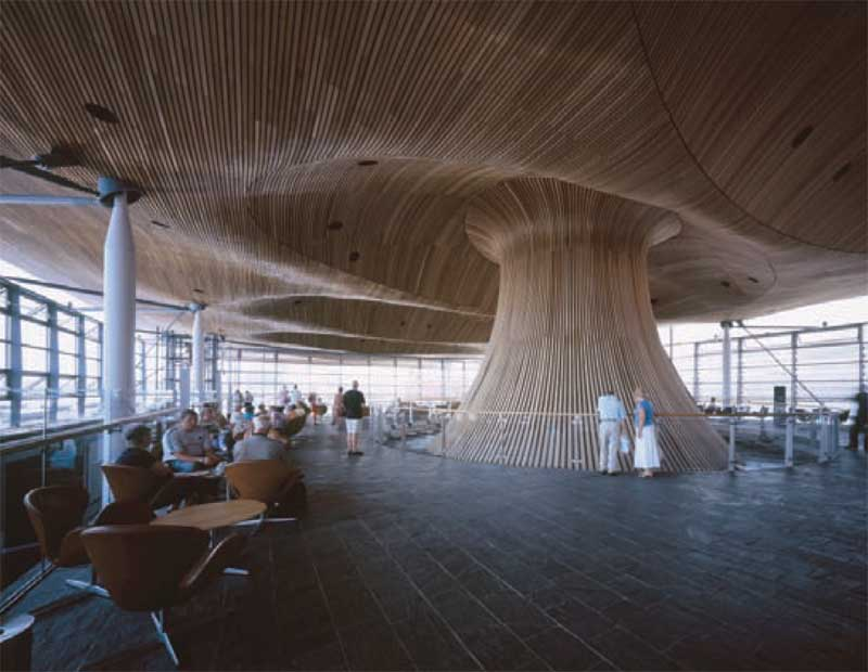 National Welsh Assembly Photos Richard Rogers Building