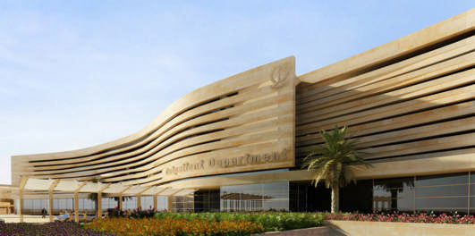 Zayed Military Hospital Building