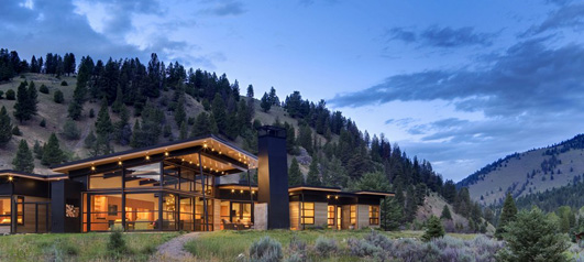 River Bank House Montana