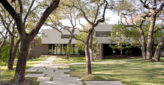West Lake Hills Residence Texas