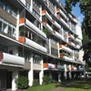 Interbau Apartment House by Architect Walter Gropius in Berlin