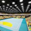 Olympic Handball Arena building by PTW Architects