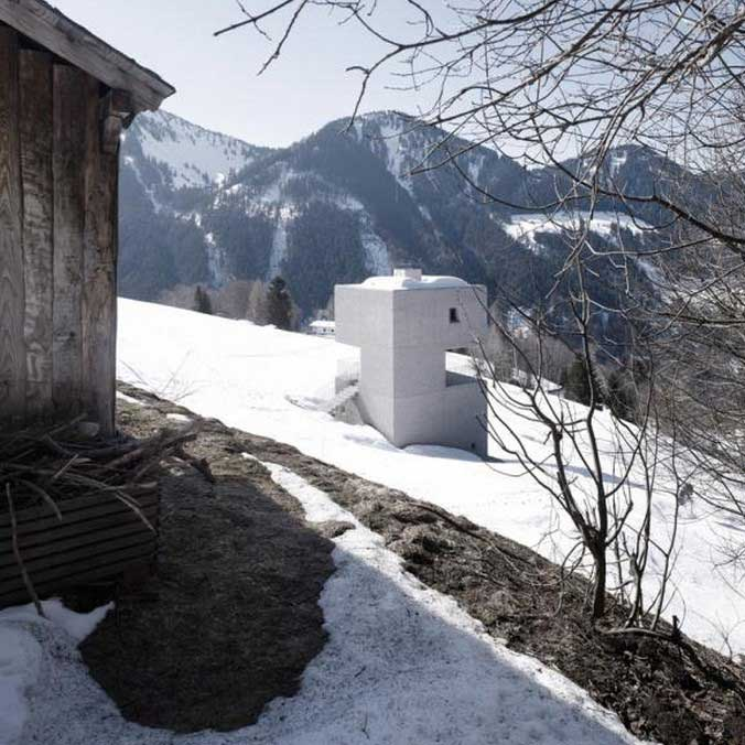 Austrian Mountain Building