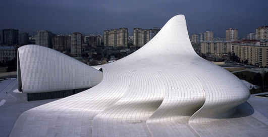 Heydar Aliyev Centre Baku by Zaha Hadid Architect