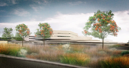 King Hamad University Hospital Oncology Centre Bahrain Architecture News