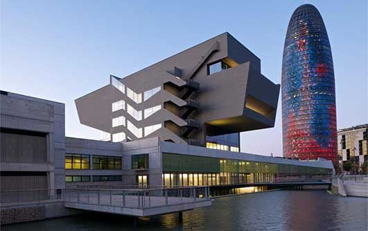 Barcelona Design Museum Building