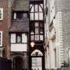 Half-timbered building London