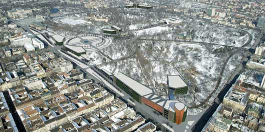 Liget Budapest Masterplan Design Competition