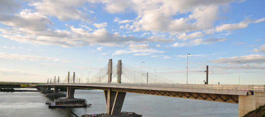 New Danube Bridge Vidin-Calafat Bridge
