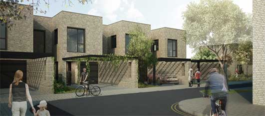 Long Lane Residential Development Cambridge