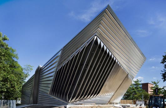 Eli and Edythe Broad Art Museum Building - Architecture News January 2010