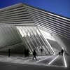 Eli & Edythe Broad Art Museum design by Zaha Hadid Architects