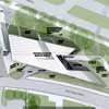 Eli and Edythe Broad Art Museum site plan