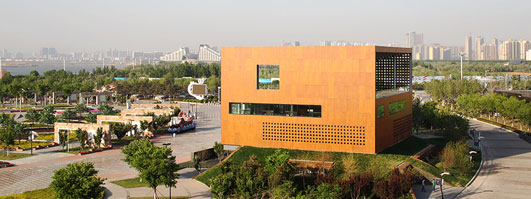Bayuquan Vanke Exhibition Center