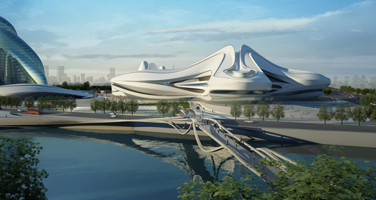 Changsha Meixihu International Culture & Art Centre Building