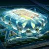 Dalian Football Stadium Building