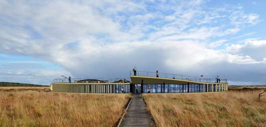 Great Fen Visitor Centre Design - Invisible Buildings